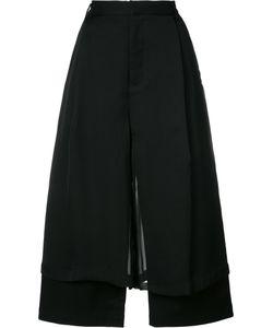 Comme Des Garçons Noir Kei Ninomiya | Double-Layer Wide-Leg Trousers