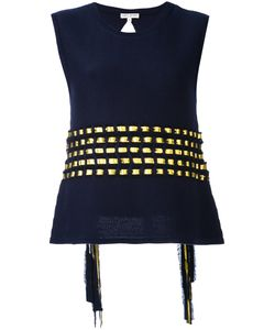 Each X Other | Knit Open Back Ribbon Top