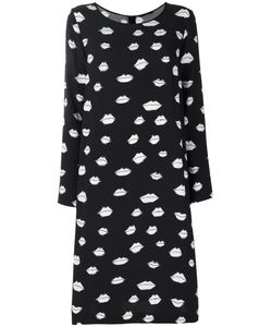 Odeeh | Kiss Print Dress Women 40