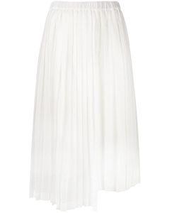 No21   Pleated Skirt 42 Cotton/Silk