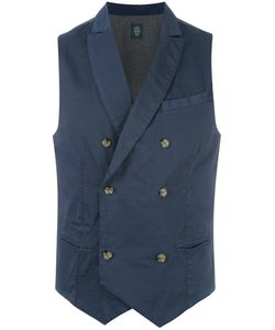 Eleventy | Double Breasted Waistcoat Xl
