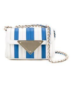 Sara Battaglia | Striped Mini Shoulder Bag