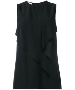 Cédric Charlier | Detailed Sleeveless Blouse Size 44