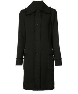 Raquel Allegra | Frayed Trim Coat