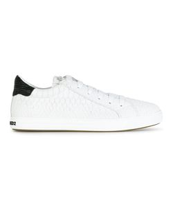 Dsquared2 | Snakeskin Effect Sneakers 45