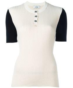 Courrèges | Ribbed Knit T-Shirt Size 3