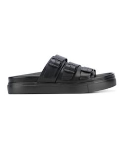 Neil Barrett | Buckle Strap Sandals