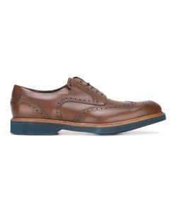 Salvatore Ferragamo | Perforated Wingtip Derby Shoes 40
