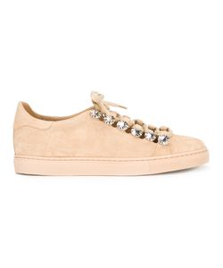 Toga Pulla   Lace Up Studded Trainers Size