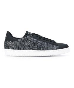 EA7 Emporio Armani | Snakeskin Print Sneakers