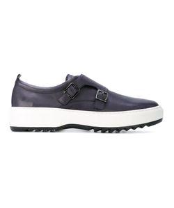 Salvatore Ferragamo | Monk Strap Sneakers