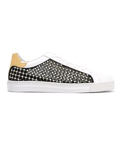 Rene Caovilla | René Caovilla Studded Laced-Up Sneakers Size 38