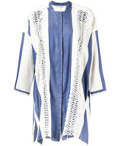 Martha Medeiros | Stiped Letícia Shirt Dress Size Medium