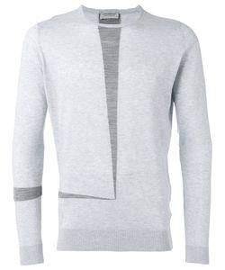 John Smedley | Contrast Stripe Sweater Size Xl