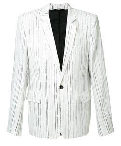 Ann Demeulemeester Grise | Fine Stripe Blazer Medium