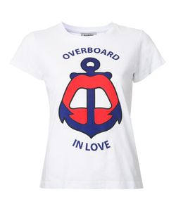 Yazbukey | Overboard In Love T-Shirt Small Cotton