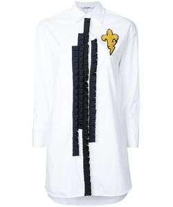 Neil Barrett | Fleur-De-Thunder Patch Shirt Size Xxs