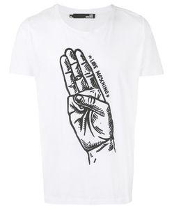 Love Moschino | Hand Print T-Shirt