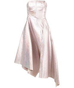 Osman | Strapless Glitter Gown