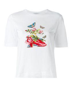 Vivetta   Embroidered T-Shirt 42