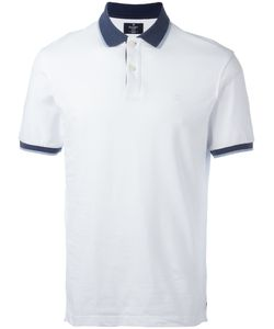 Hackett | Contrast Collar Polo Shirt Size Small