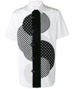 Ganryu Comme Des Garcons | Central Circle Print Shirt Size Small