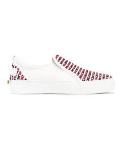 Buscemi | Crossed Detail Slip-On Trainers 44