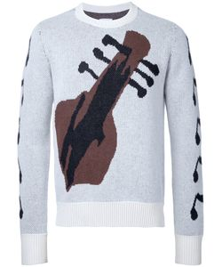 The Soloist | Guitar Intarsia Jumper Size 44