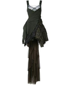 A.F.Vandevorst   Layered Train Dress 36