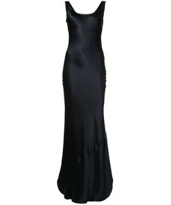 Nili Lotan | Long Scoop-Back Dress Size Medium