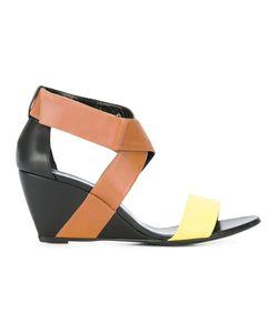 Pierre Hardy   Crisscross Wedge Sandals