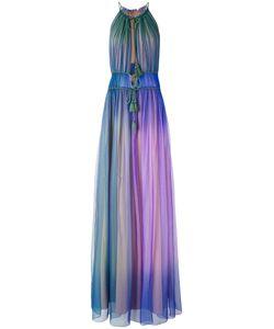 Alberta Ferretti   Gradient Shift Maxi Dress Silk/Acetate/Other