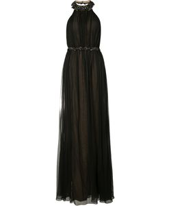 Marchesa Notte | Beaded Halterneck Gown Size 12