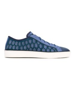 Santoni | Embroidered Sneakers 39