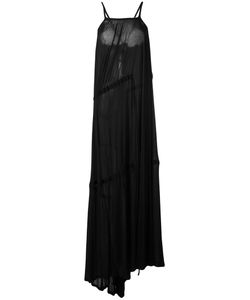 Ann Demeulemeester Blanche | Pleated Maxi Dress 36
