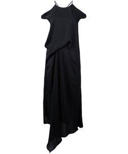 Christian Wijnants | Cutout Shoulder Draped Dress