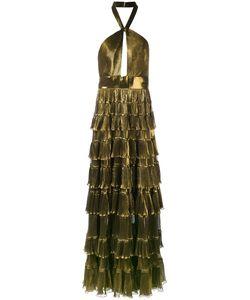 Elie Saab | Tiered Skirt Gown Women