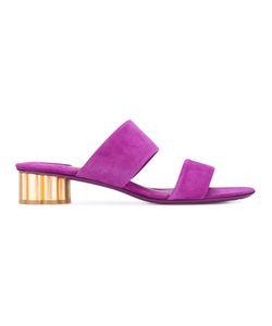 Salvatore Ferragamo | Flower Heel Sandals