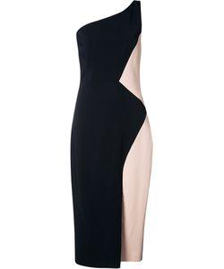 Cushnie Et Ochs | Single Shoulder Bicolour Dress Size 6