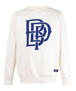 Bleu De Paname   Logo Print Sweatshirt Size Xl