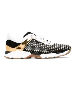 Rene Caovilla | René Caovilla Panel Studded Sneakers