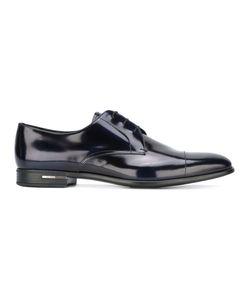 Prada   Square Toe Oxford Shoes Size 41