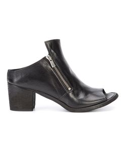 Officine Creative | Sabot Open Ankle Boots Buffalo