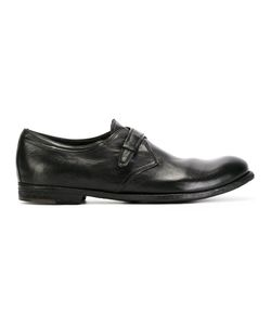 Officine Creative | Single Strap Monk Shoes 39 Leather