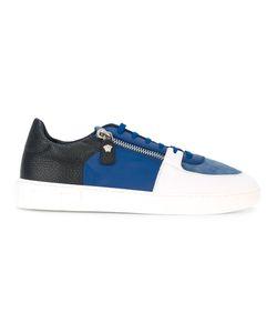 Versace | Contrast Colour Zip Sneakers Size 42