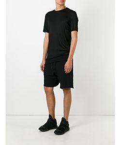 Cedric Jacquemyn   Twisted Decoup Shorts 46 Linen/Flax