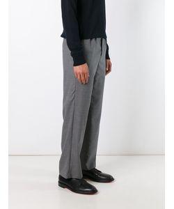 AMI Alexandre Mattiussi | Double Pleat Wide Leg Trousers