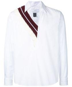 Facetasm | Knit-Trimmed Poplin Shirt One