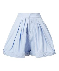 Vika Gazinskaya   Pleated Tailored Shorts