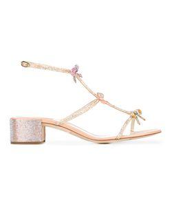 Rene Caovilla | René Caovilla Bow Embellished Sandals